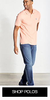 Shop Men's Polos at Stage