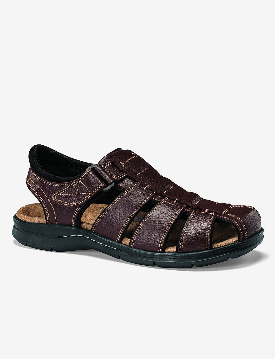 Dockers Brown Fisherman Sandals