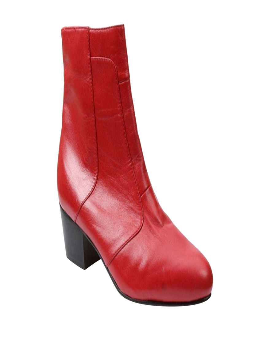 Giorgio Brutini Red Chukka Boots