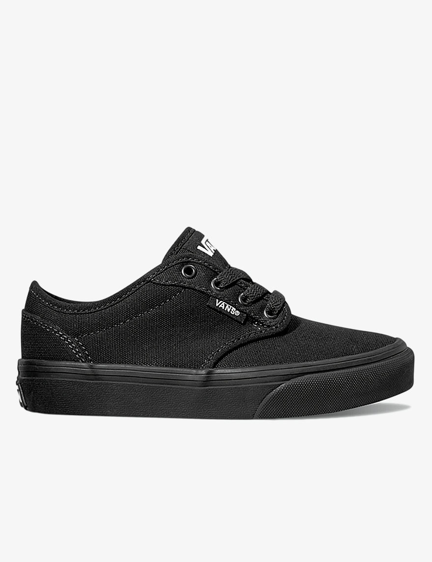 ... BLACK BLACK 6 M Youth UPC 766182061627 product image for Vans Y Atwood  Lace-Up Shoes Boys 11-3 ... 2facb8b35