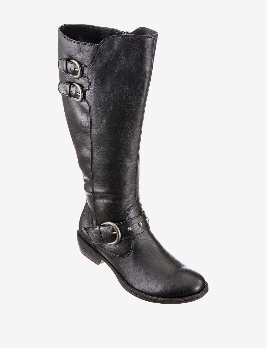 02ea0efe4ed UPC 887316409921 - Women's B.O.C, Hart Tall wide calf Boots BLACK 6 ...