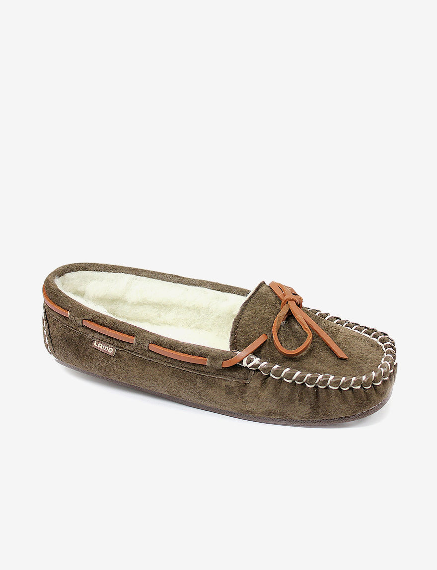LAMO Footwear Dark Brown Slipper Shoes