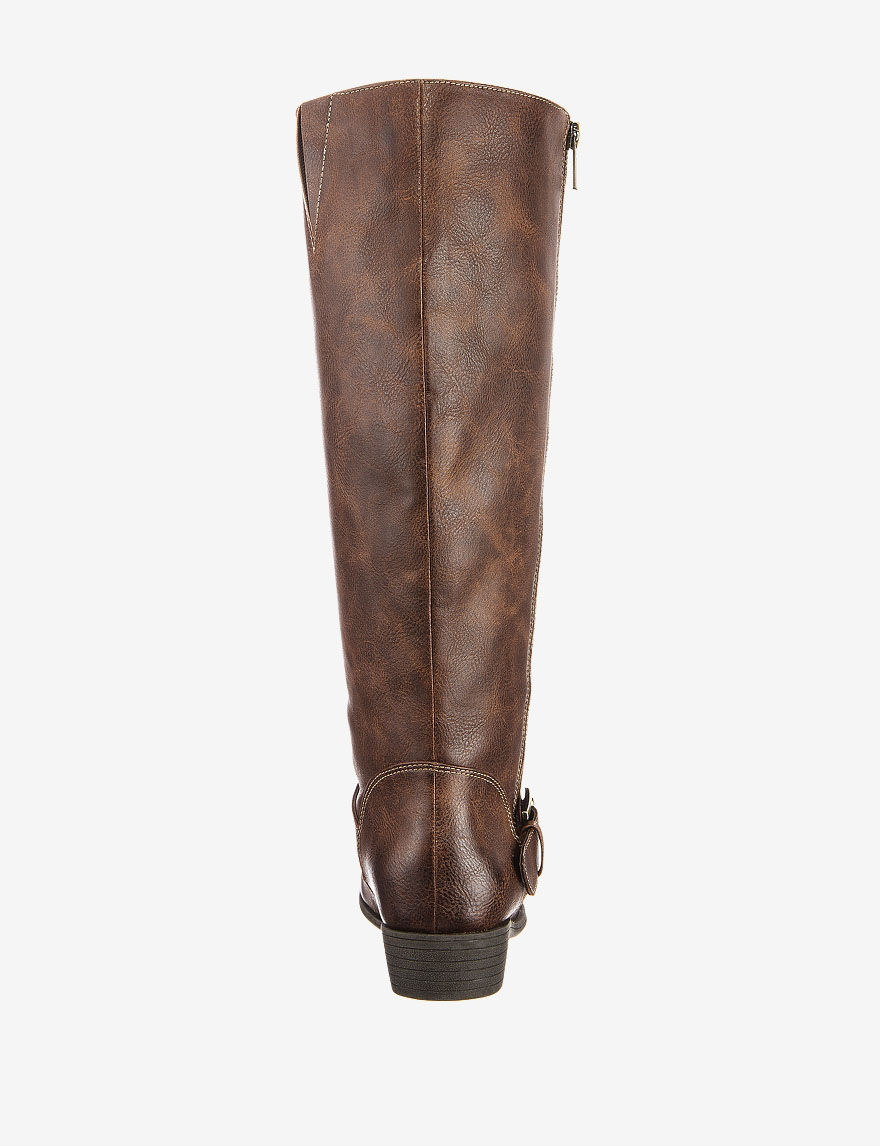 903a530d17bb Breadcrumbs. stage · Women  Natural Soul by Naturalizer Vickers Wide Calf  Tall Boots – Ladies