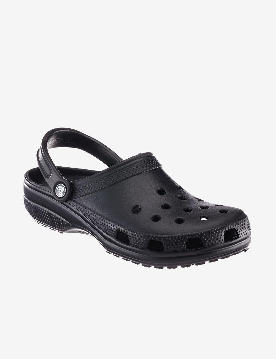Crocs Black Sport Sandals