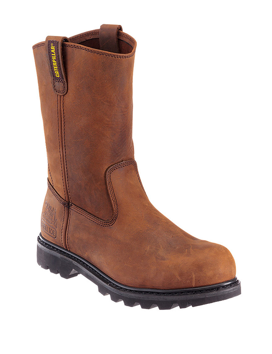 Wolverine Brown Western & Cowboy Boots
