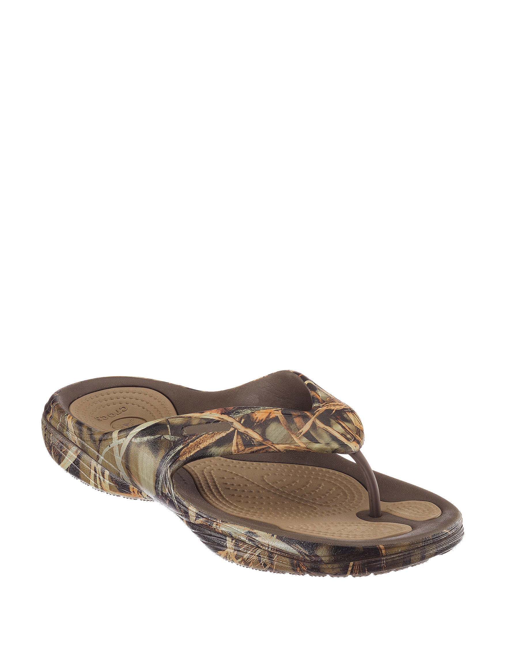 Crocs Green Sport Sandals