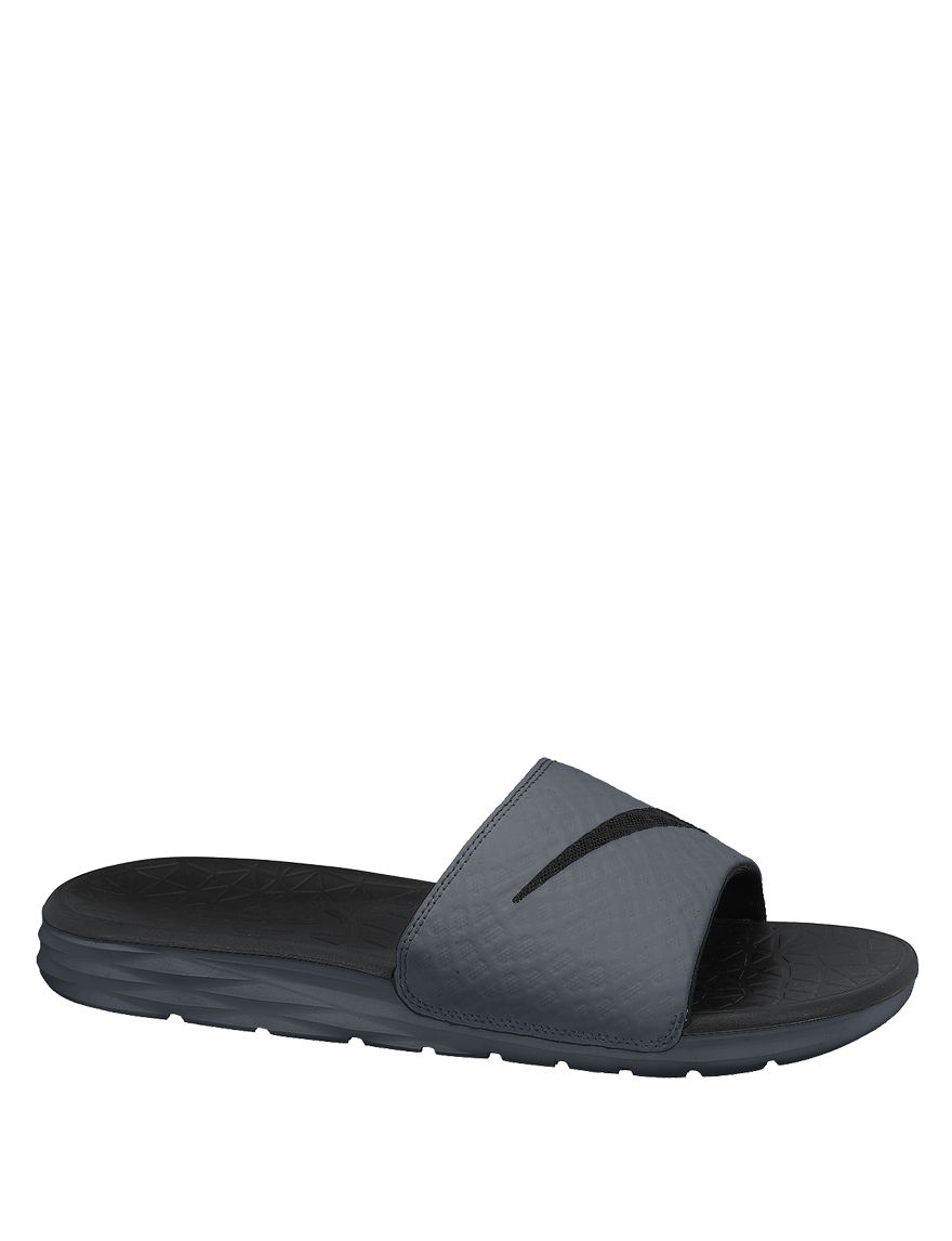 Nike Grey Slide Sandals Sport Sandals