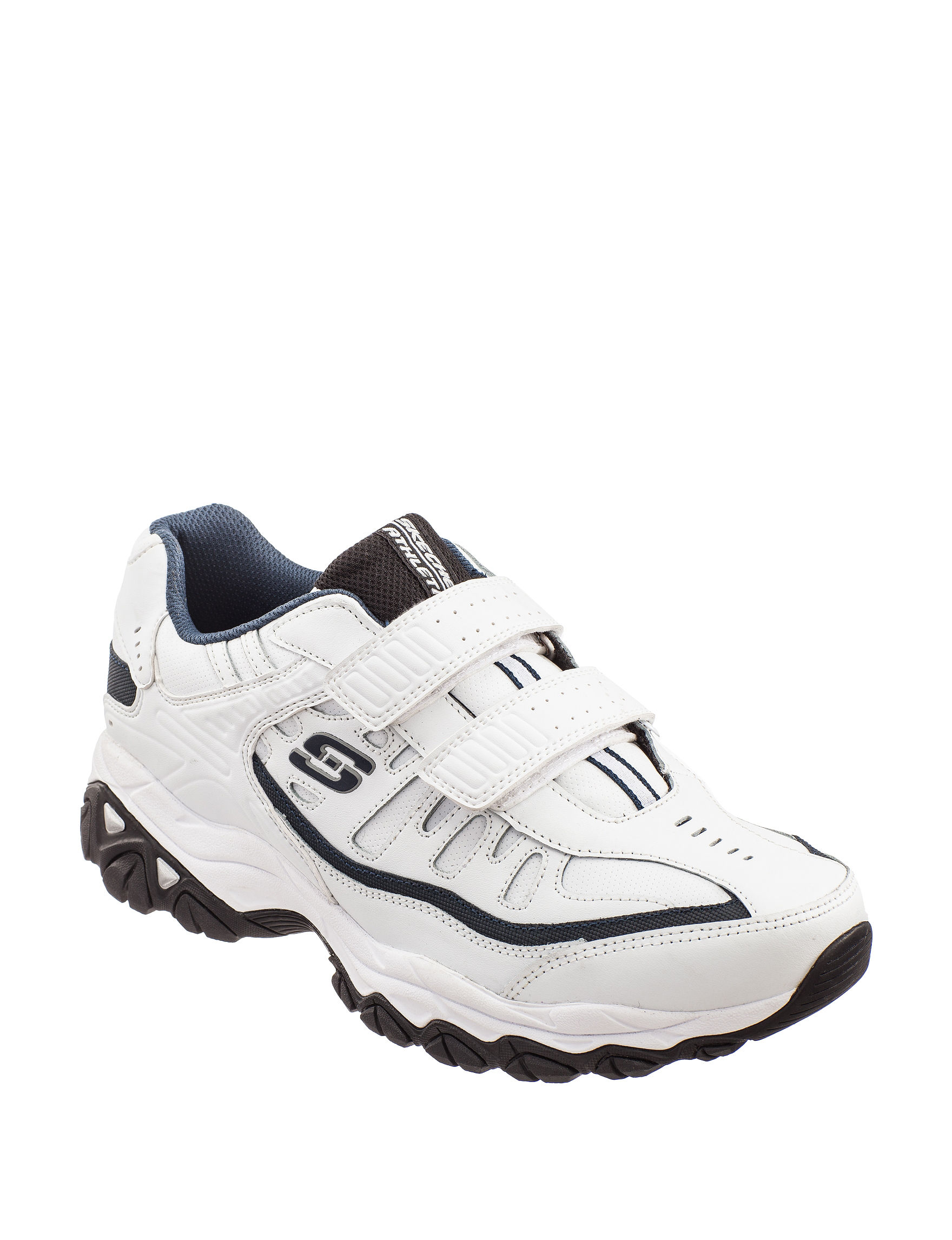 Skechers White / Navy