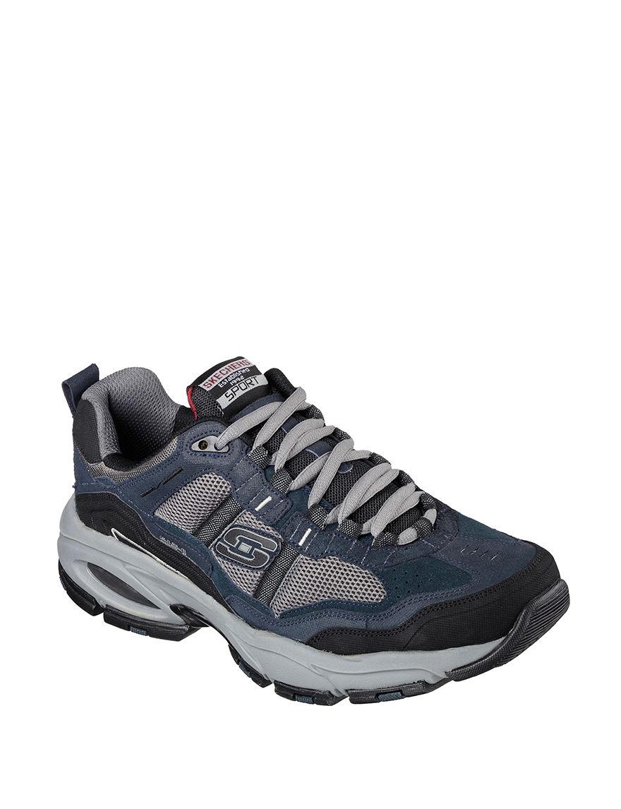 Skechers Navy / Grey