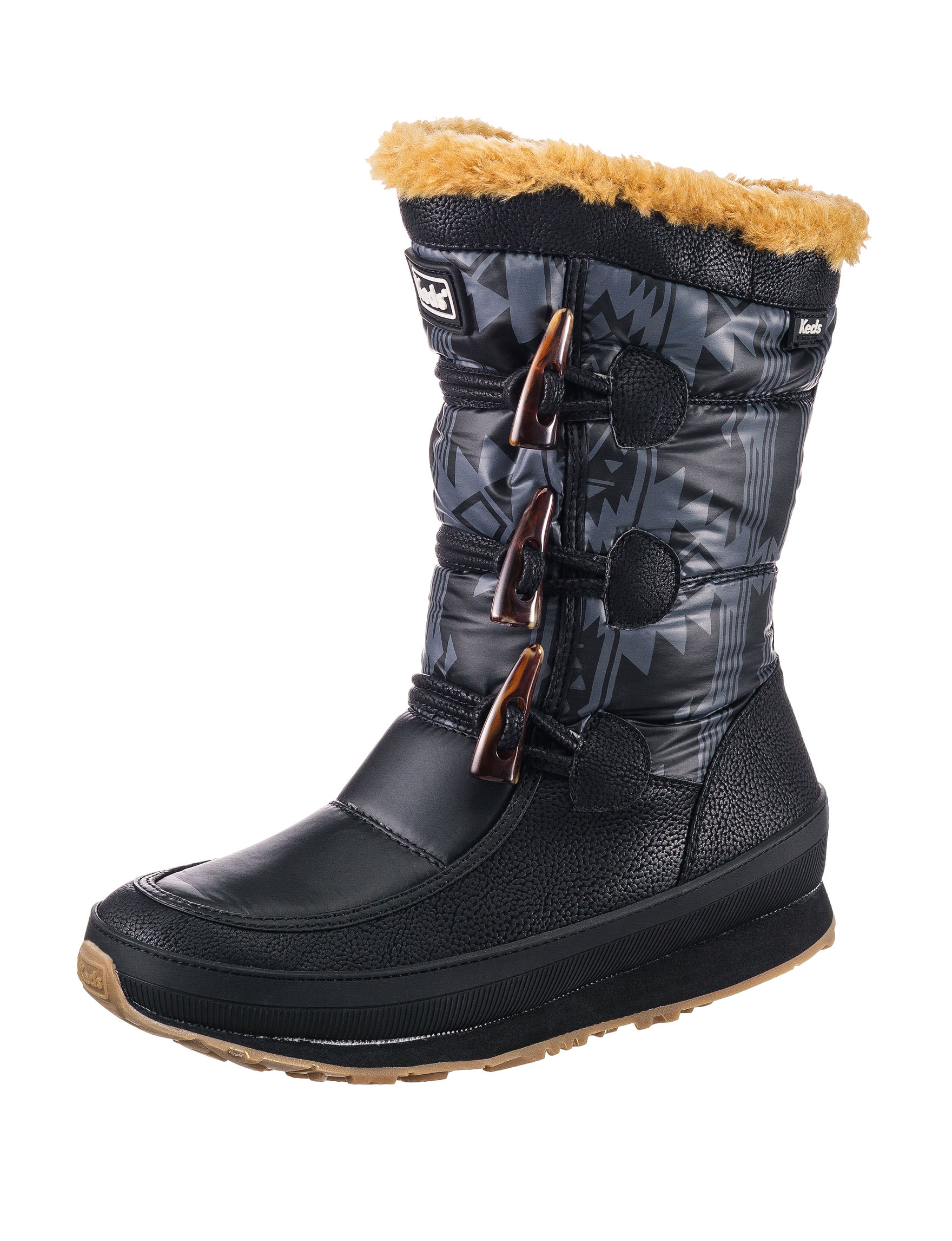 Keds Black Winter Boots