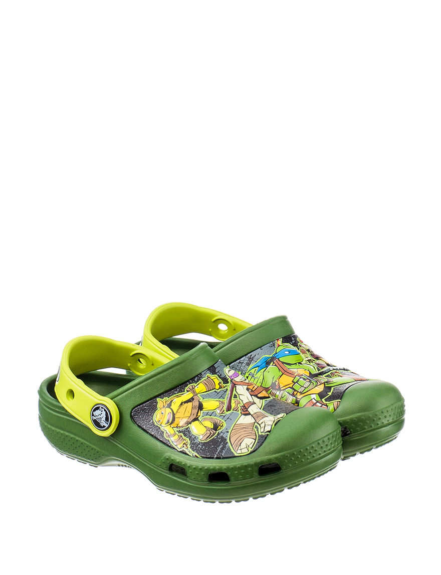 7f2f153ffe6 UPC 887350127706 product image for Crocs Teenage Mutant Ninja Turtles Clogs  - Toddlers & Kids ...