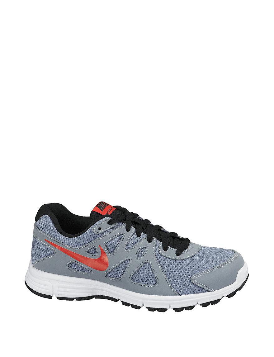 Nike Grey / Orange