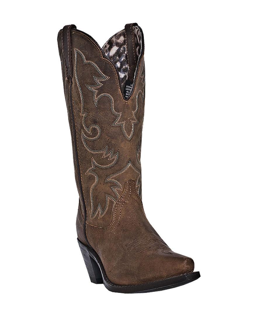Laredo Brown Western & Cowboy Boots
