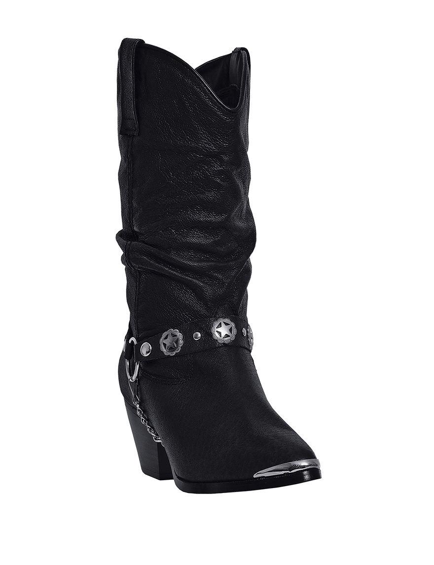 Dingo Black Western & Cowboy Boots