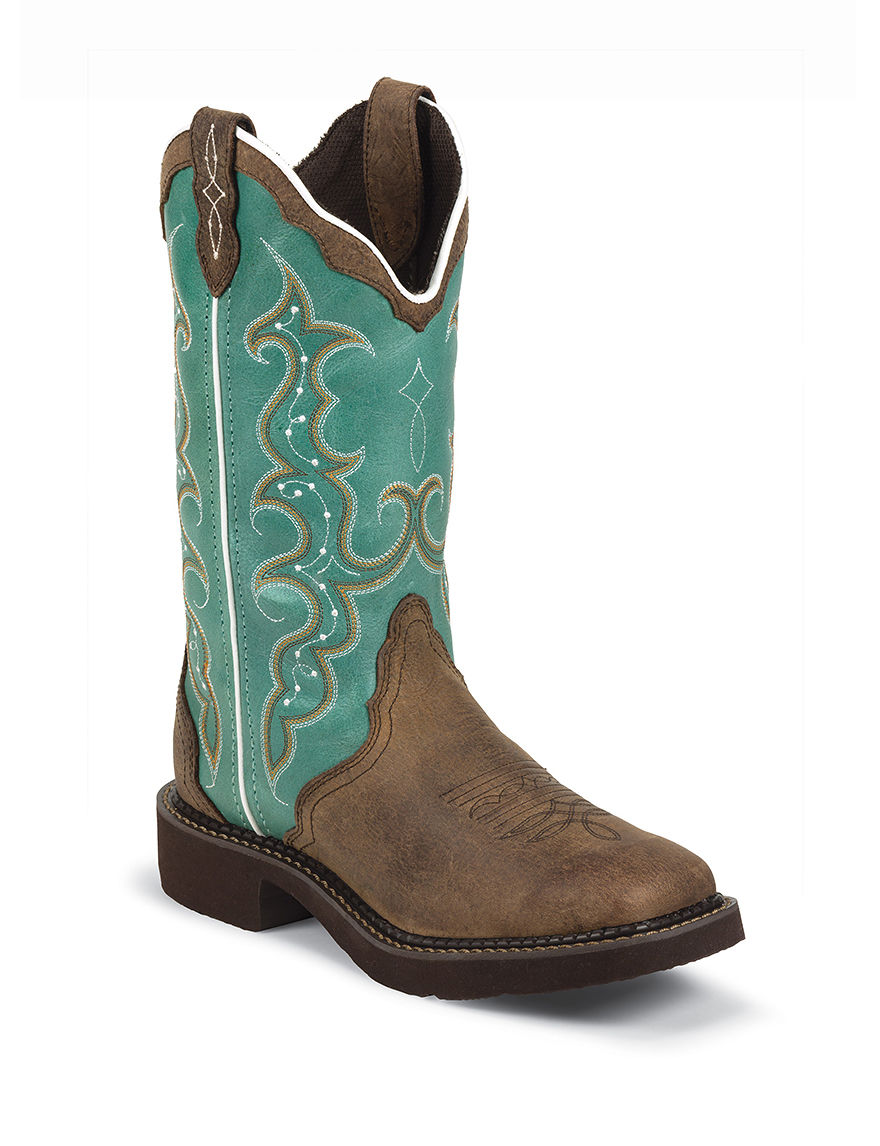 Justin Boots Brown Western & Cowboy Boots