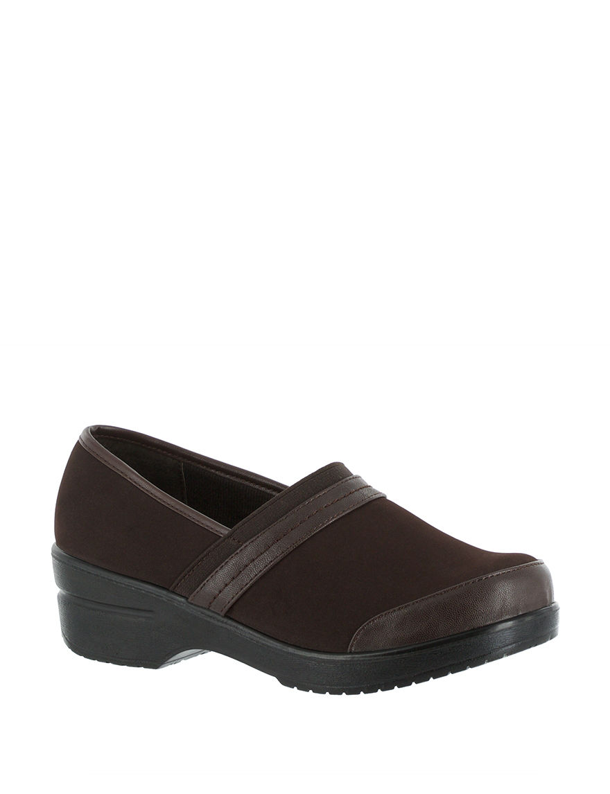 Easy Street Brown/Gore Clogs