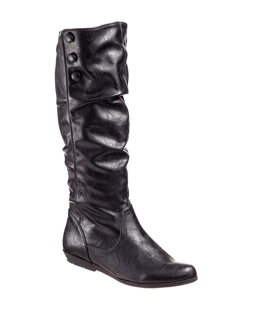 Cliffs Black Riding Boots