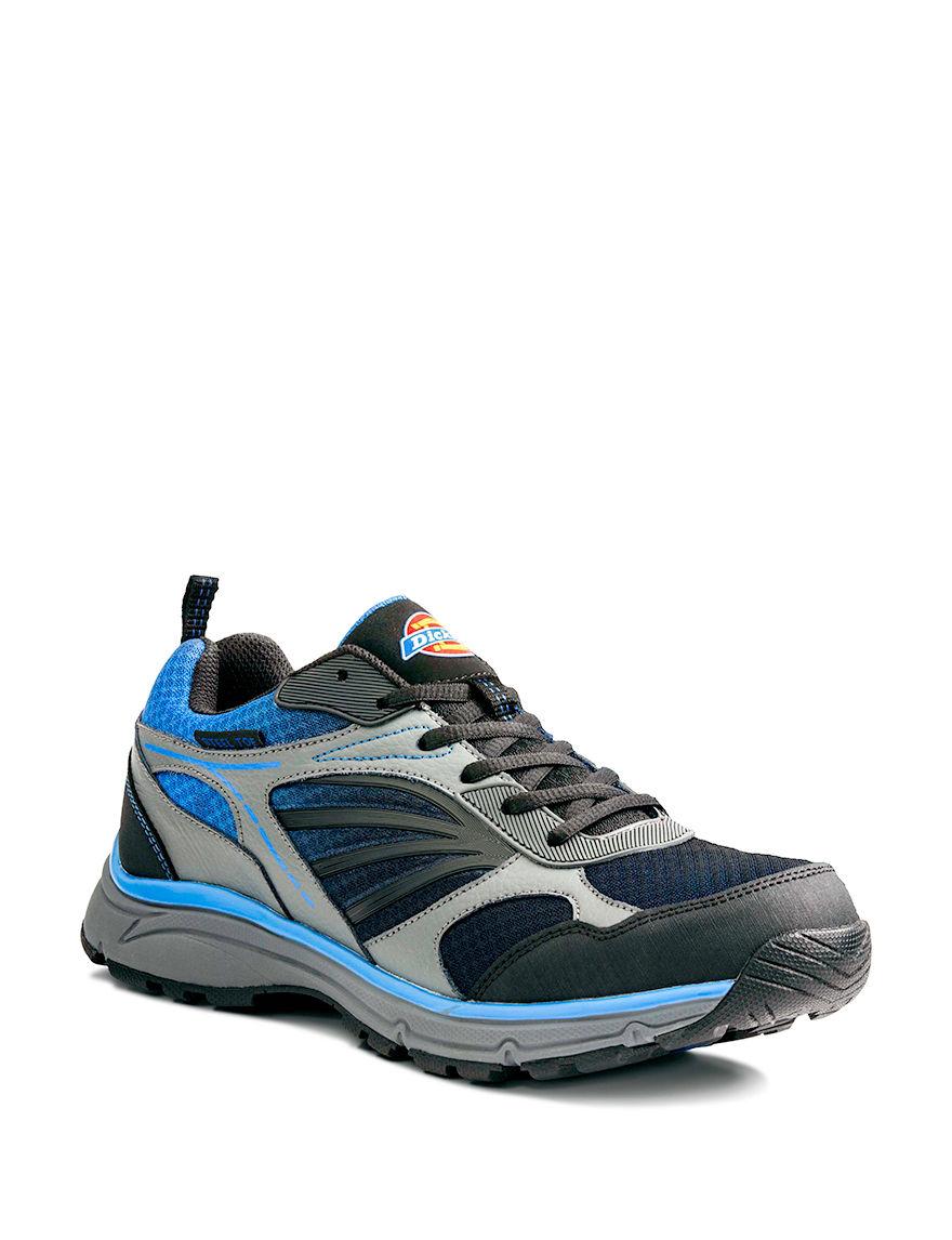Dickies Blue Slip Resistant Steel Toe