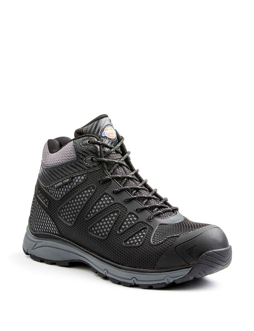 Dickies Black Slip Resistant Steel Toe