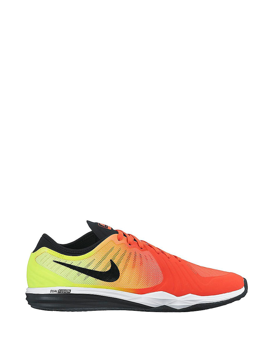 UPC 887232347529 product image for Nike Dual Fusion TR 4 Athletic Shoes -  Orange - 6.5 ...