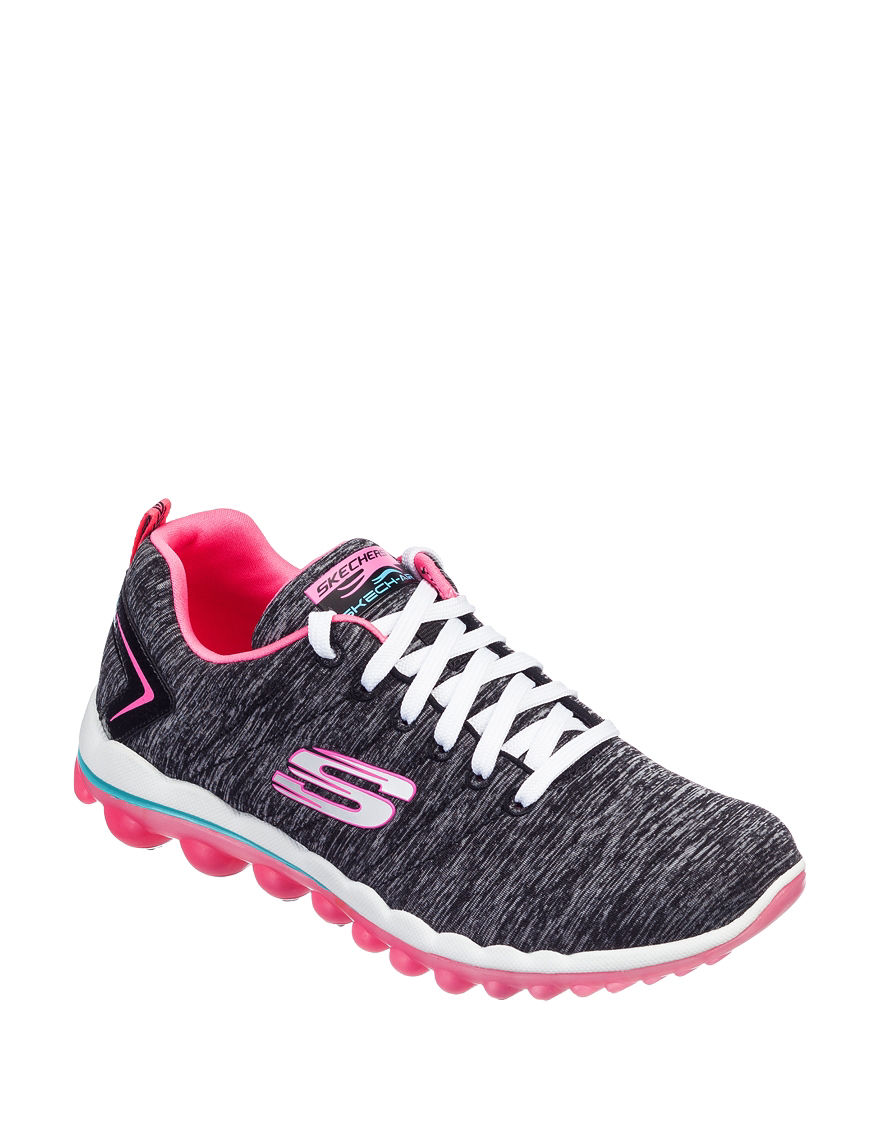 Skechers Black / Pink