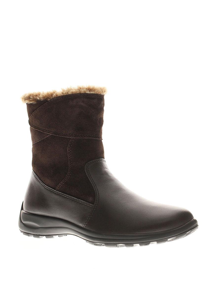 Flexus Brown Winter Boots