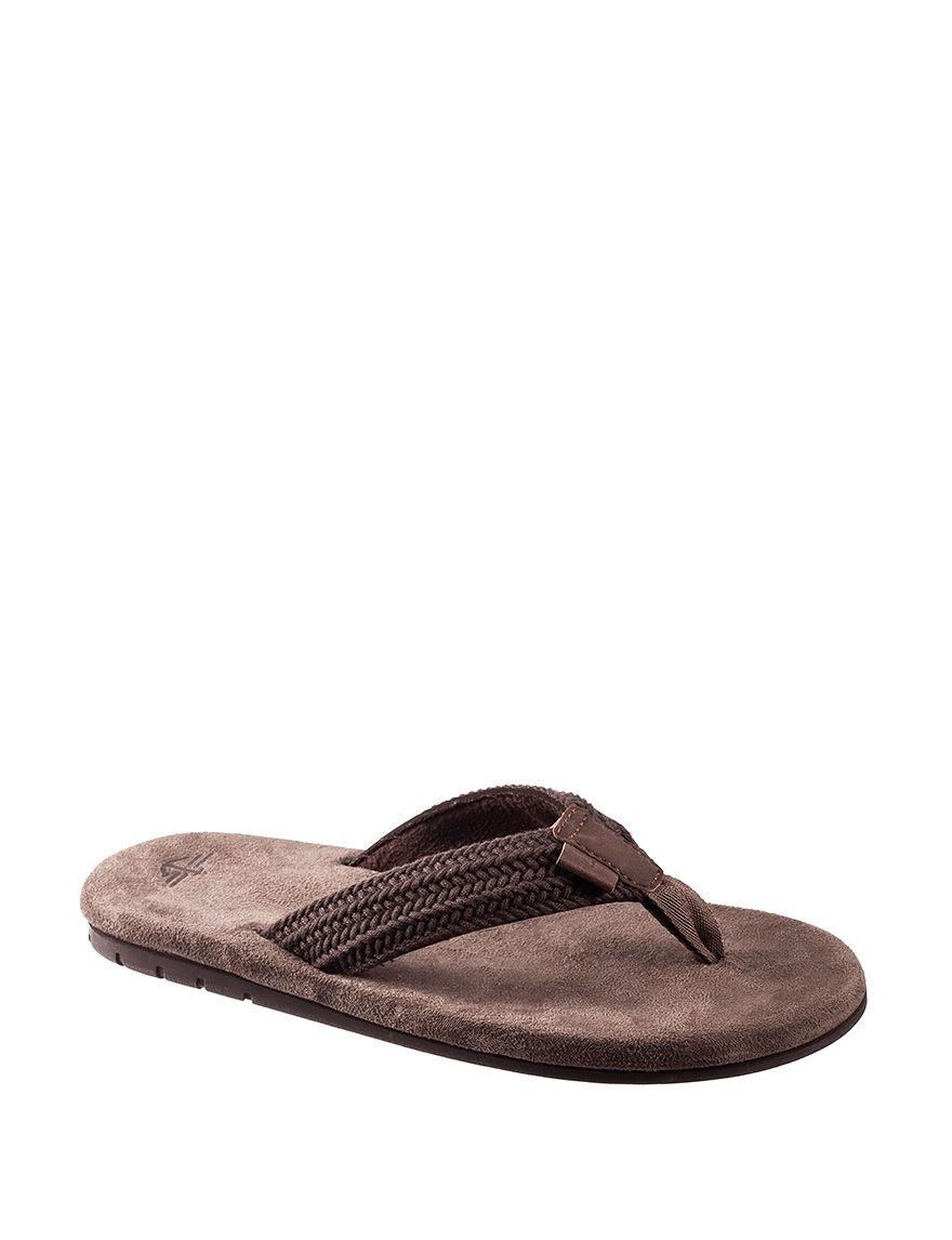 Dockers Brown Flip Flops