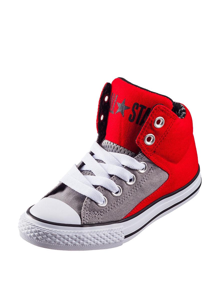Converse Red / Grey