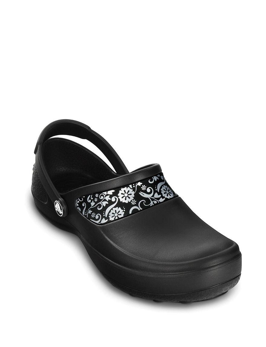 Crocs Black Clogs Slip Resistant