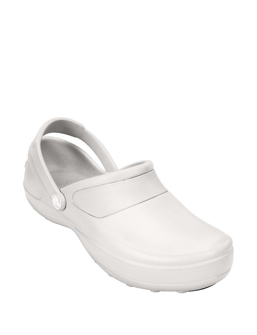 Crocs White Slip Resistant