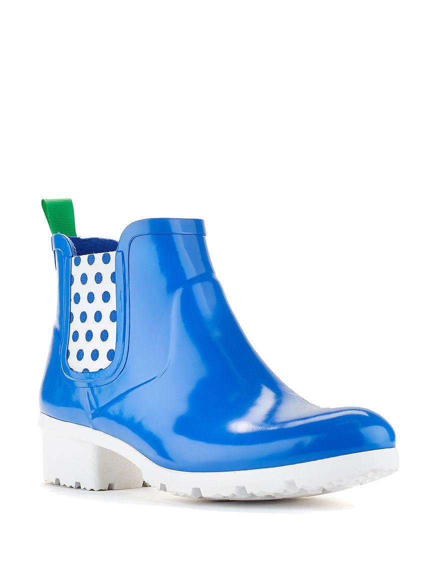 Cougar Blue Rain Boots