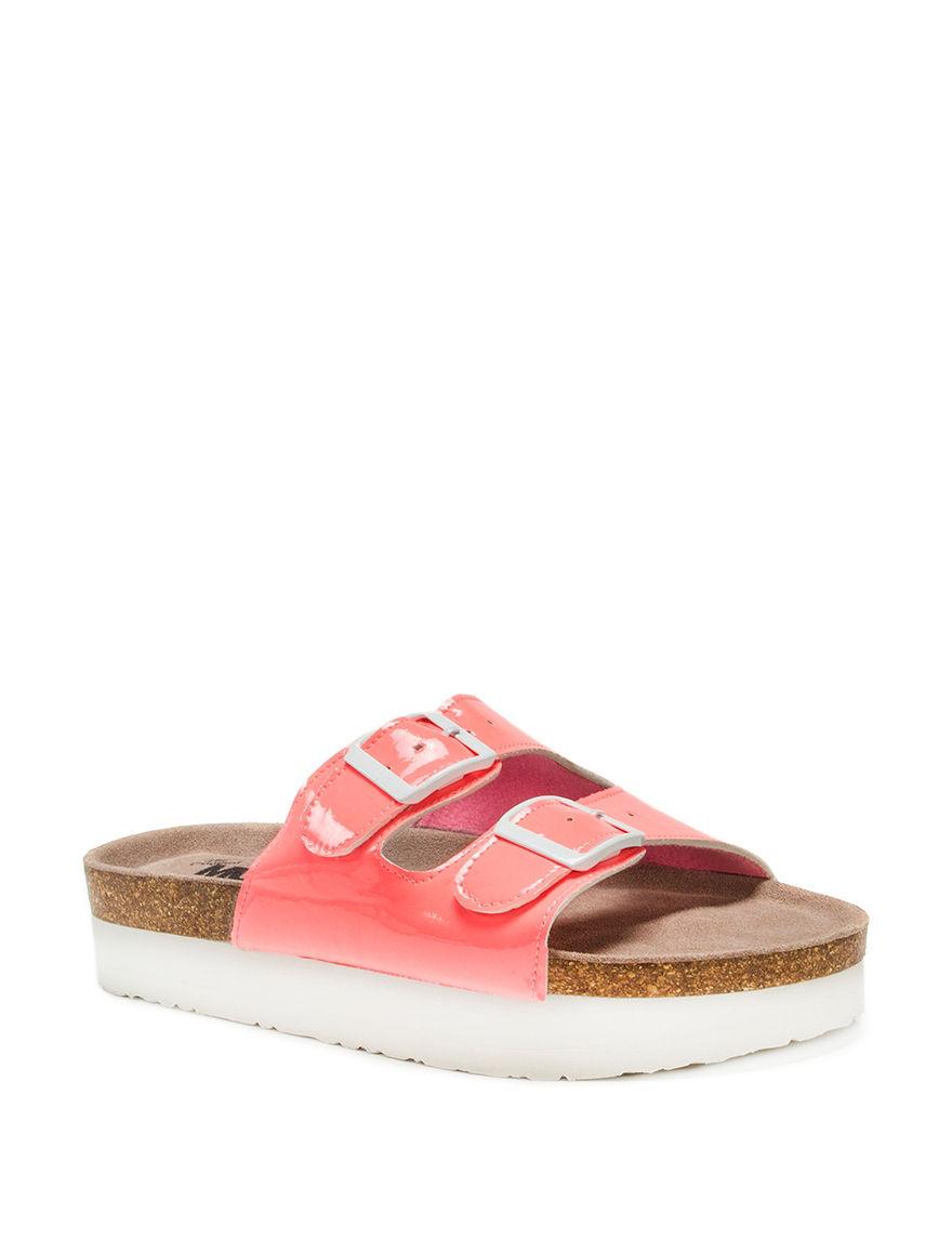 Muk Luks Coral Flat Sandals