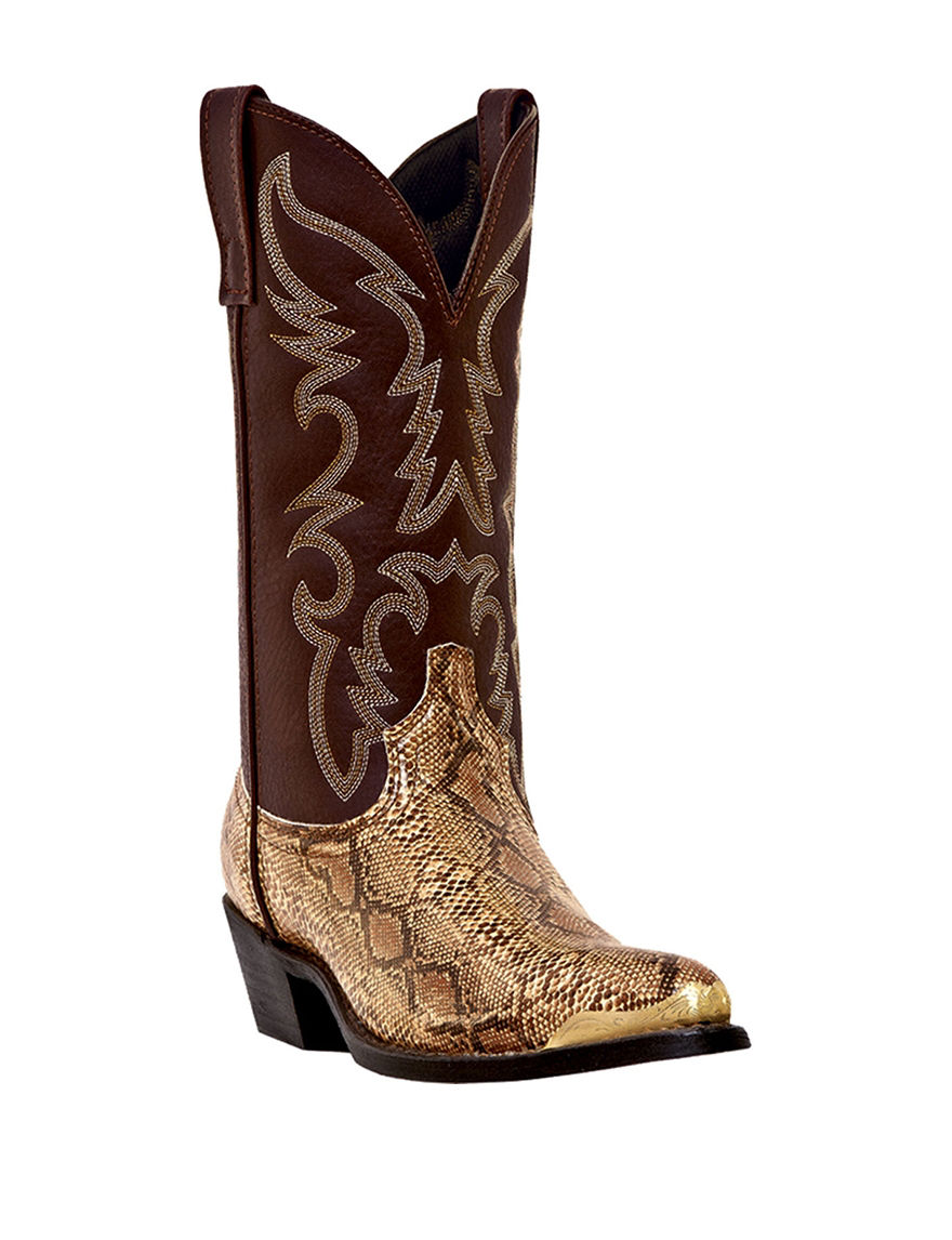 Laredo Golden Brown Western & Cowboy Boots