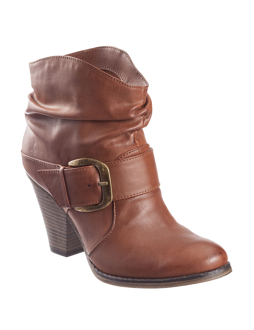 MIA Brown Ankle Boots & Booties