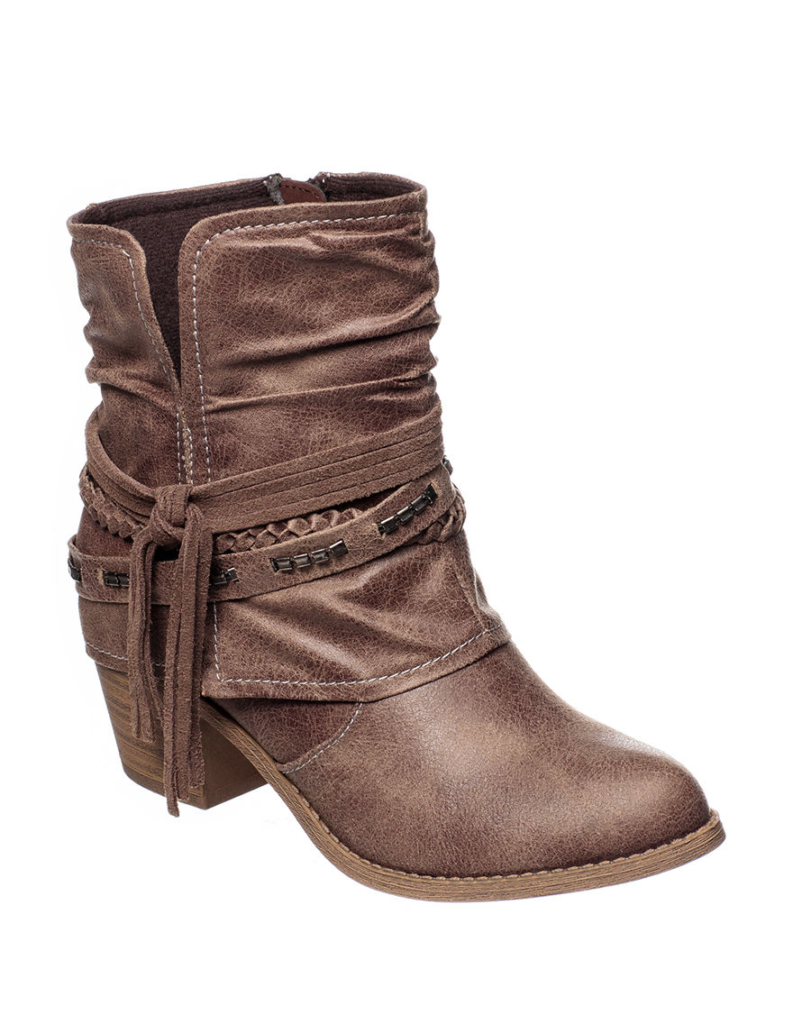 Jellypop Misc Brown Ankle Boots & Booties