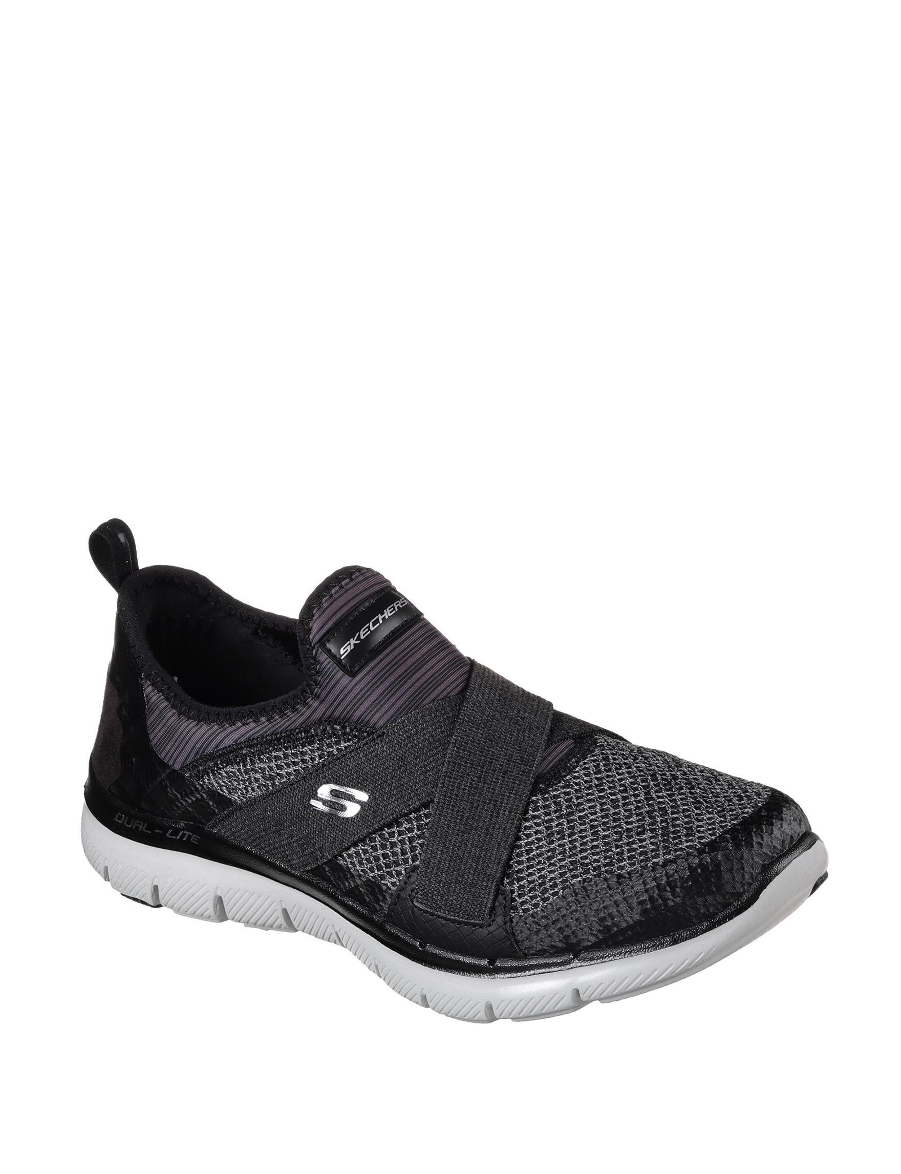 Skechers Black Comfort Stretch