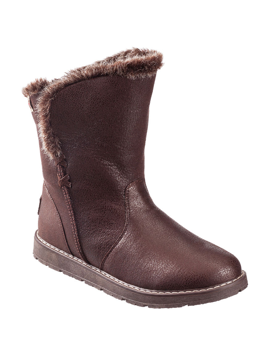 Skechers Brown Ankle Boots & Booties