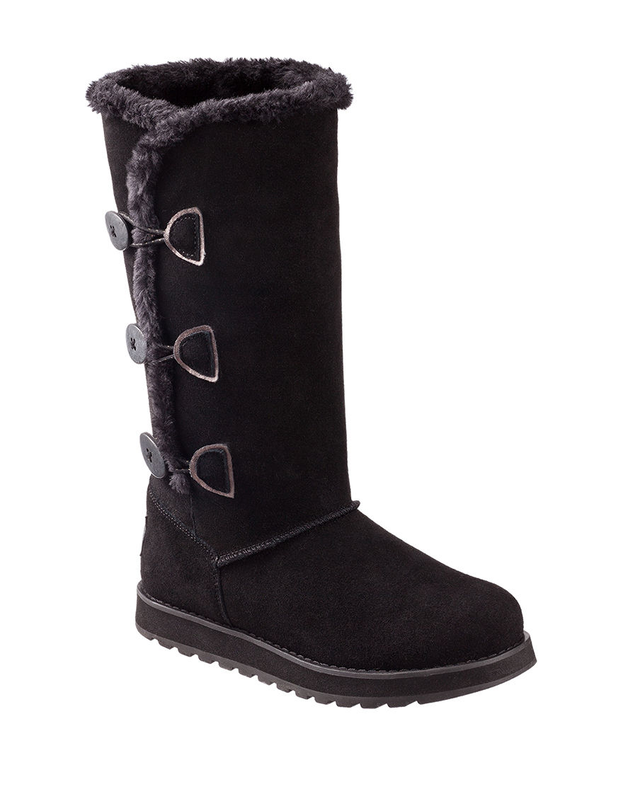 Skechers Black Ankle Boots & Booties