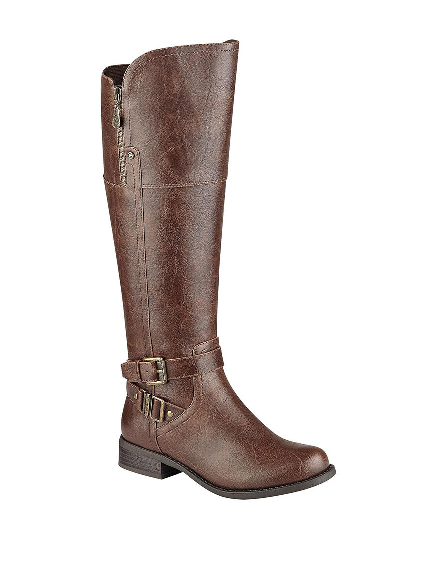 G by Guess Dark Brown Riding Boots