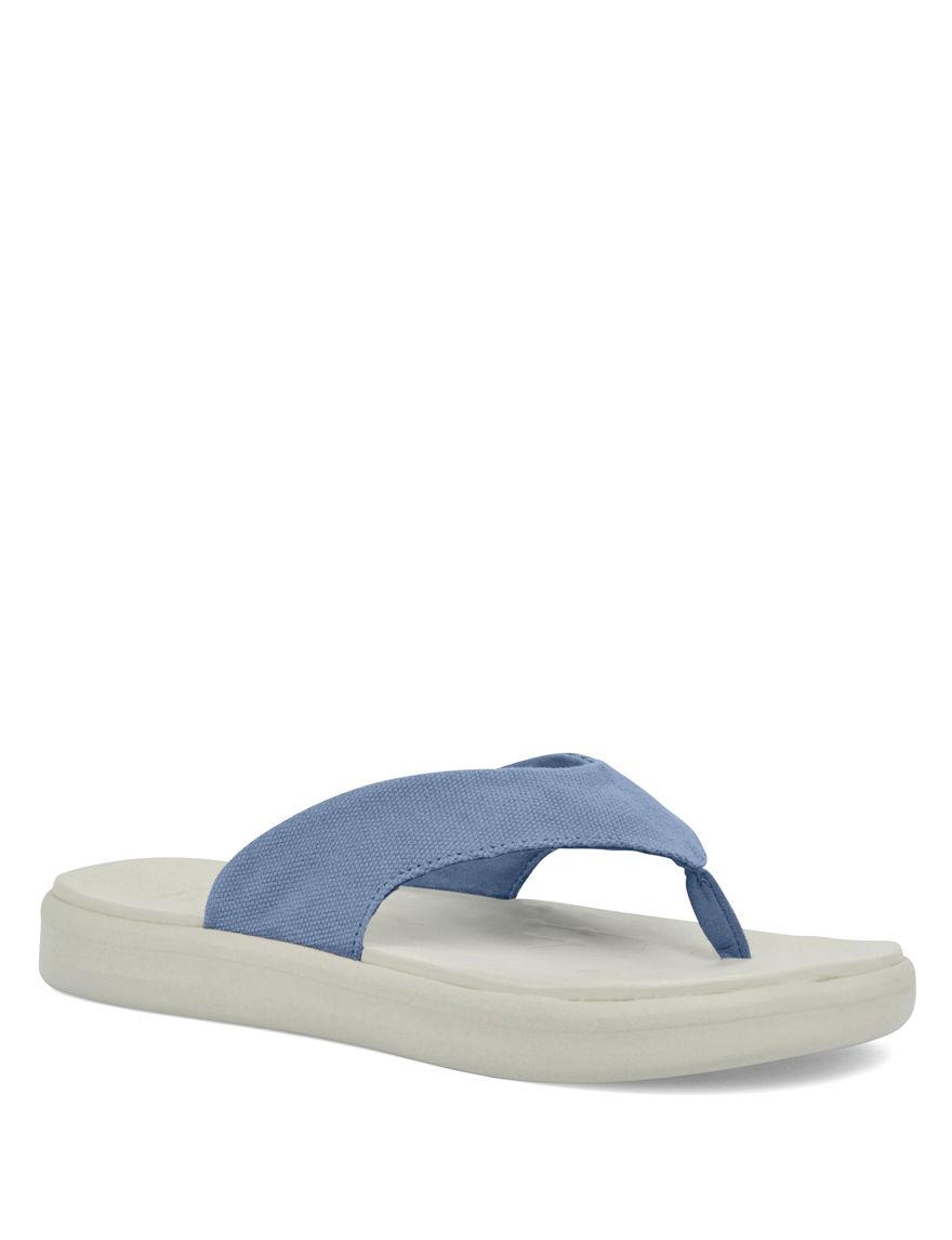 Soft Science Light Blue Flip Flops