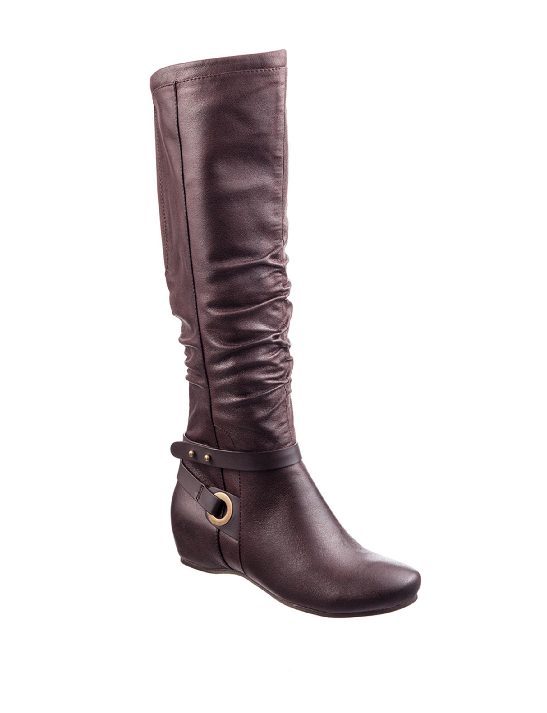 Bare Traps Dark Brown Riding Boots