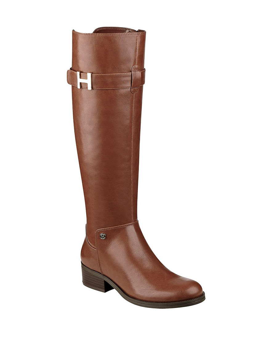 Tommy Hilfiger Light Brown Riding Boots