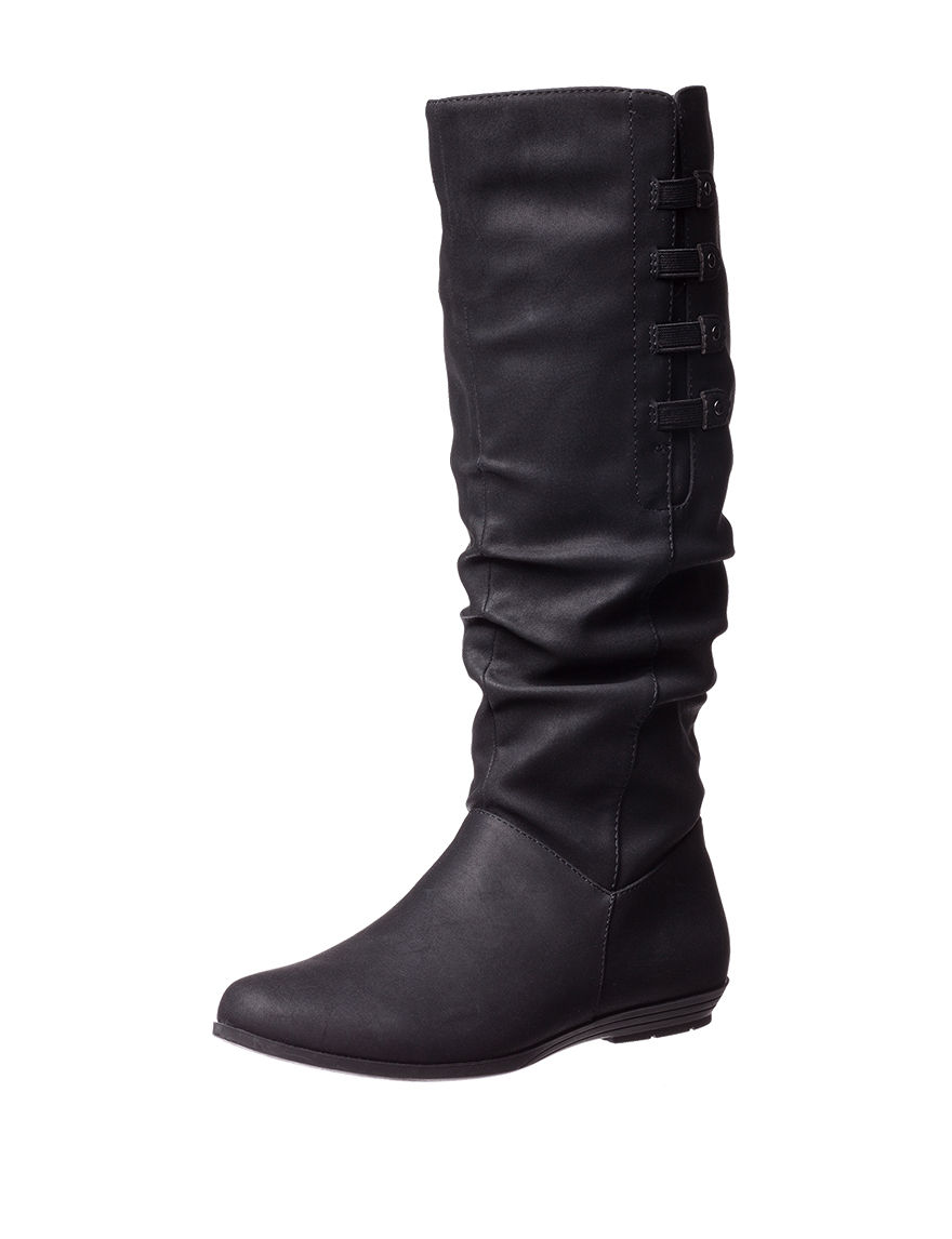 Cliffs Black Riding Boots