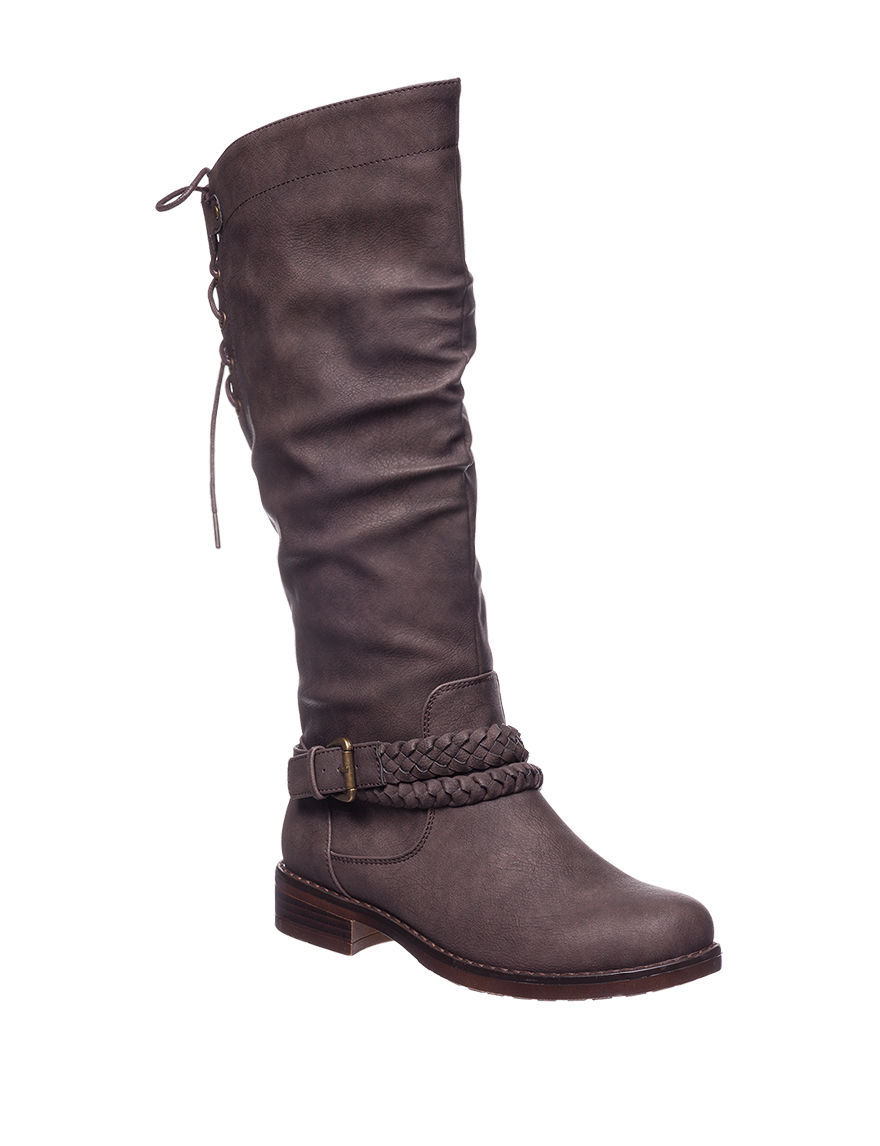 XOXO Brown Riding Boots