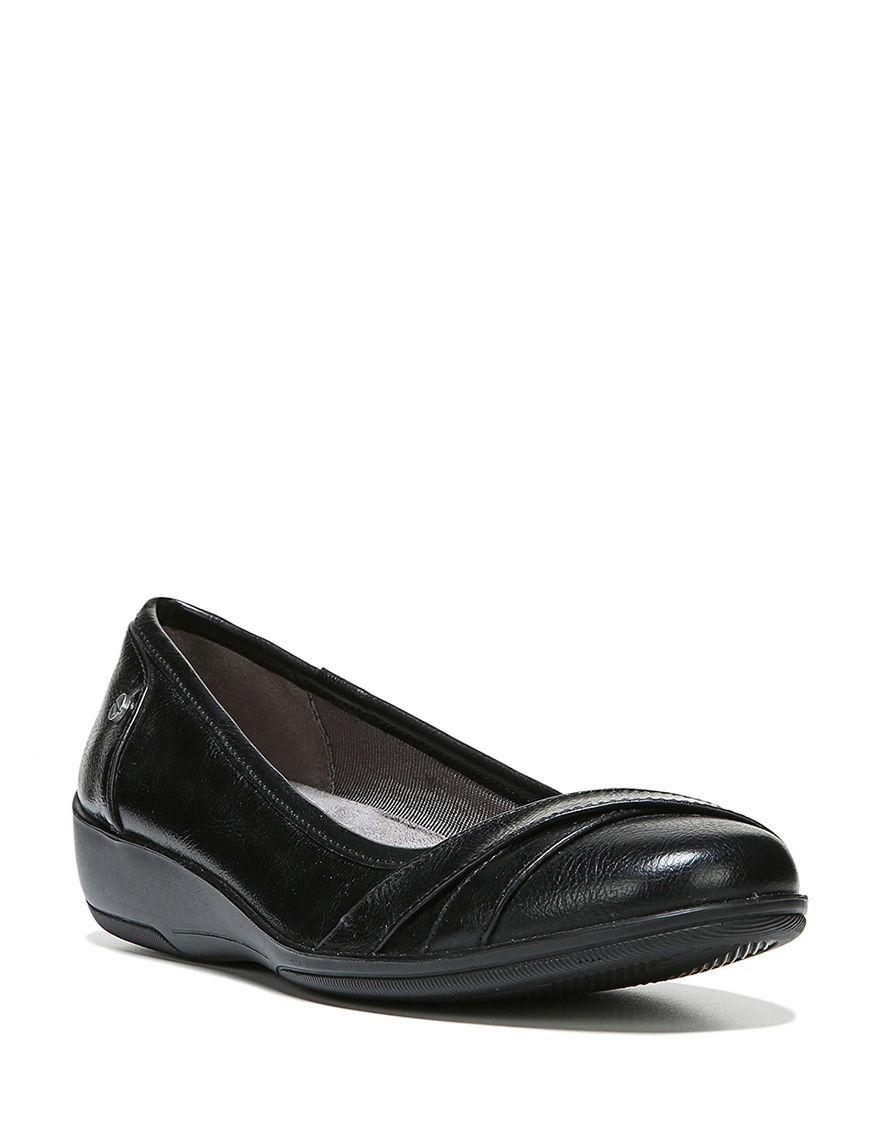 Lifestride Black Comfort Shoes