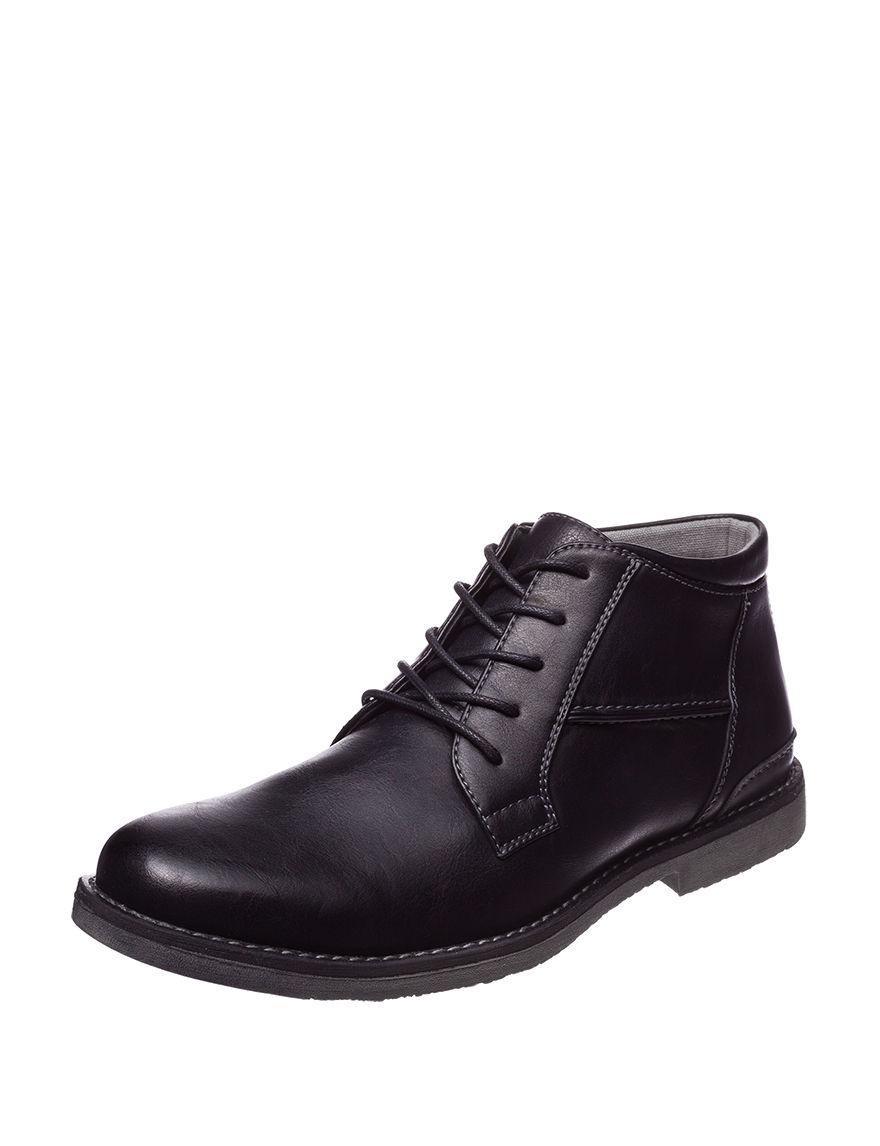 Steve Madden Black Chukka Boots