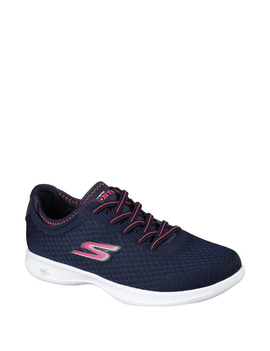 Skechers Navy / Pink