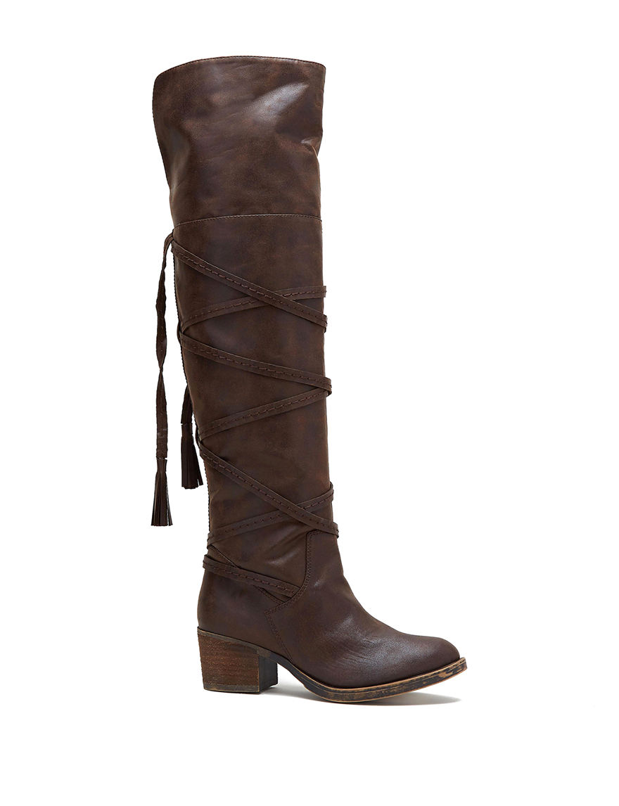 Sugar Brown Riding Boots