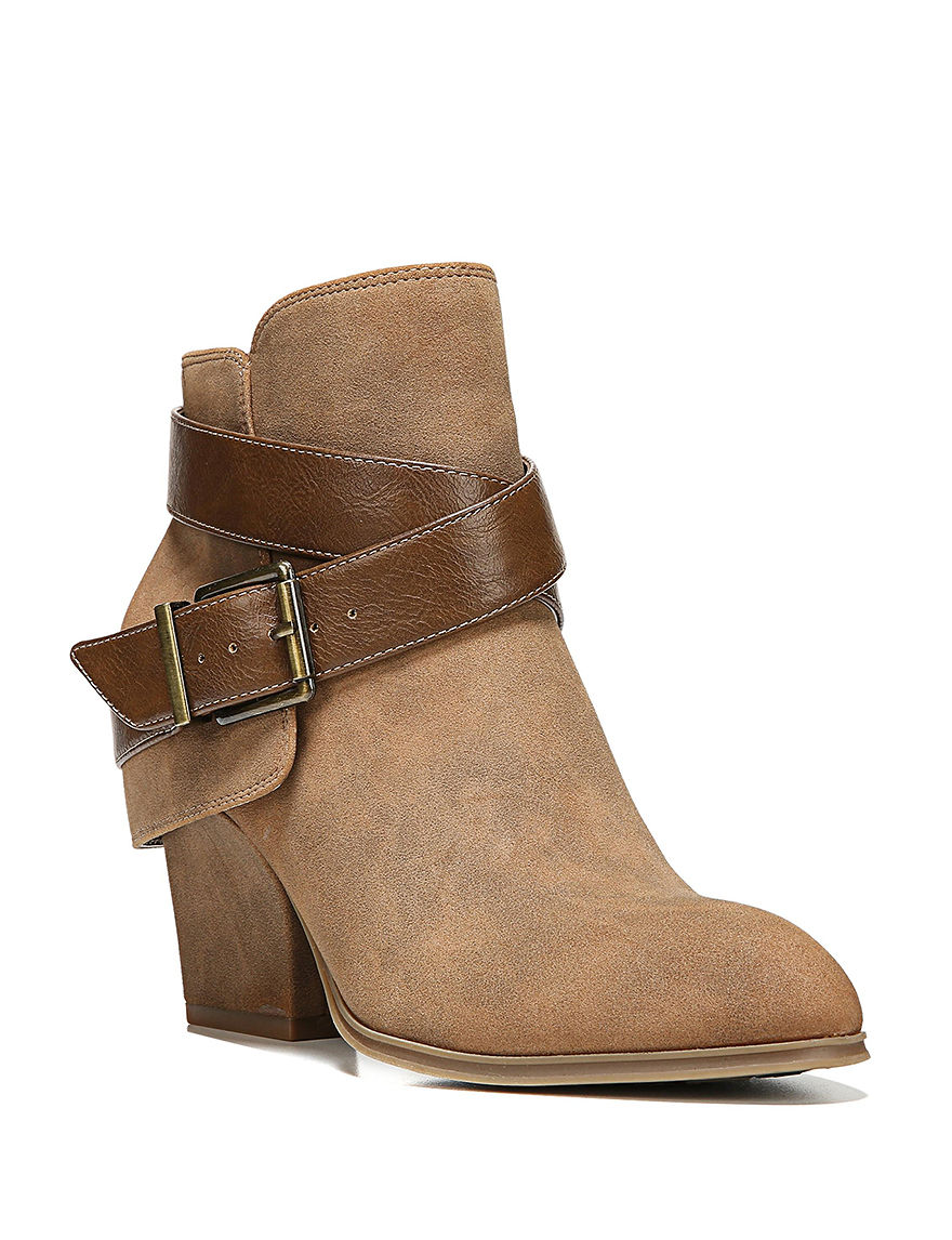 Lifestride Tan Ankle Boots & Booties