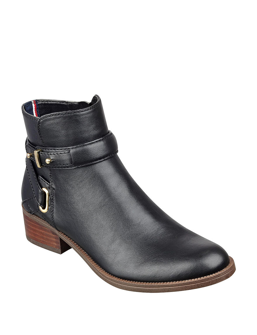 Tommy Hilfiger Black Ankle Boots & Booties